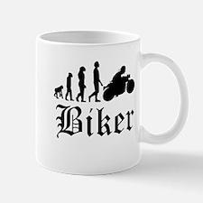 Biker Evolution Motorcycle Mugs
