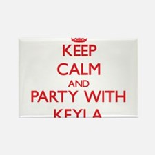 Keep Calm and Party with Keyla Magnets