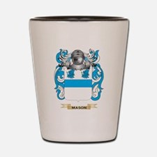 Mason Coat of Arms - Family Crest Shot Glass