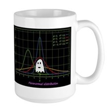 paranormal distribution ghost Mugs