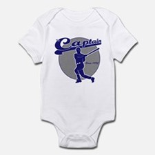 NY Baseball Captain Derek Infant Bodysuit