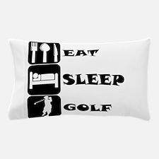Eat Sleep Golf Pillow Case