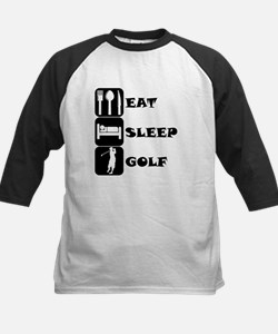Eat Sleep Golf Baseball Jersey