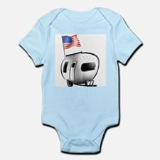 Happy Camper USA Infant Bodysuit