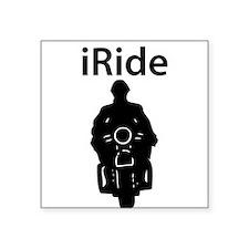 iRide Motorcycle Sticker