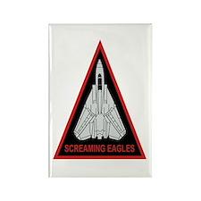 VF-51 Screaming Eagles Rectangle Magnet