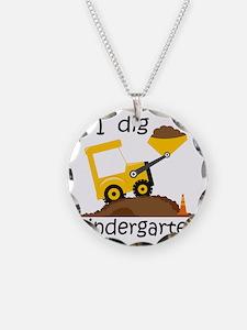 I Dig Kindergarten Necklace