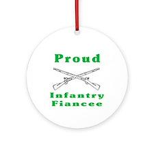infrantry fiancee Ornament (Round)