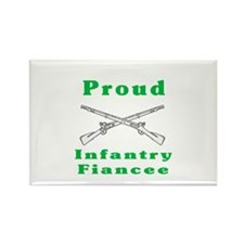 infrantry fiancee Rectangle Magnet