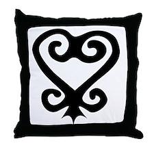 Sankofa Throw Pillow