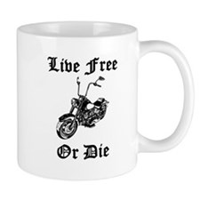 Live Free Or Die Motorcycle Mugs