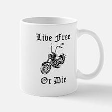 Live Free Or Die Motorcycle Mugs