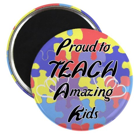 """Proud to Teach Kids 2.25"""" Magnet (100 pack)"""