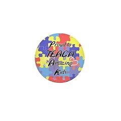 Proud to Teach Kids Mini Button (100 pack)