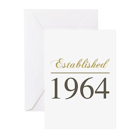Established 1964 Greeting Cards (Pk of 10)