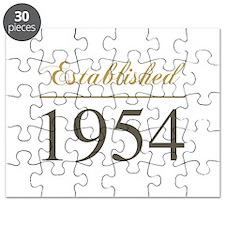 Established 1954 Puzzle