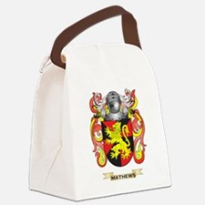 Mathews Coat of Arms - Family Cre Canvas Lunch Bag