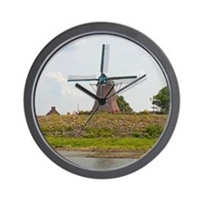Fulton Windmill Wall Clock