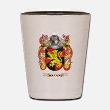 Mathias Coat of Arms - Family Crest Shot Glass