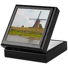 windmill 50x60 blanket-2 Keepsake Box