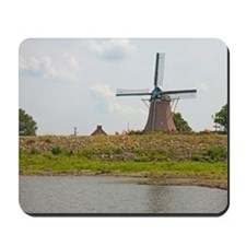 windmill 50x60 blanket-2 Mousepad