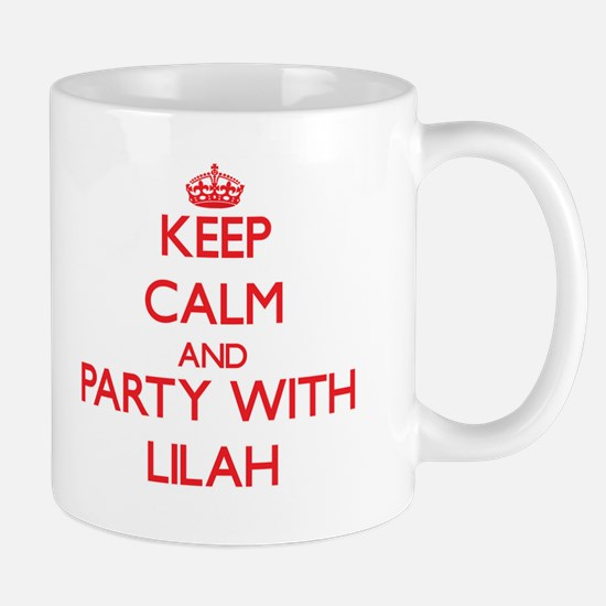 Keep Calm and Party with Lilah Mugs