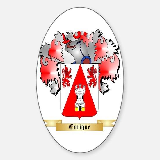 Enrique Sticker (Oval)