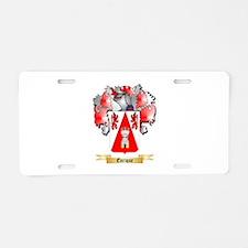 Enrique Aluminum License Plate