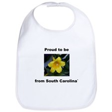 Unique Carolina flower Bib