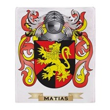 Matias Coat of Arms - Family Crest Throw Blanket