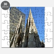 St. Patricks Cathedral Spires Puzzle