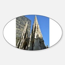 St. Patricks Cathedral Spires Decal