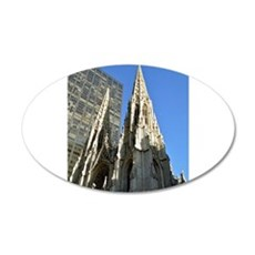 St. Patricks Cathedral Spires Wall Decal