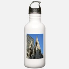 St. Patricks Cathedral Spires Water Bottle