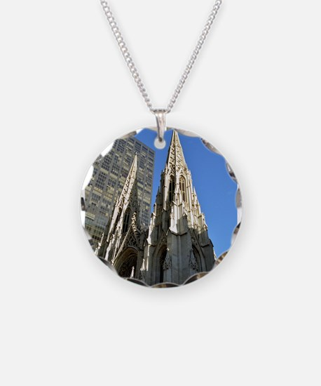 St. Patricks Cathedral Spires Necklace