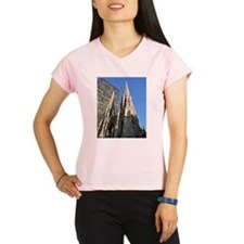 St. Patricks Cathedral Spires Performance Dry T-Sh