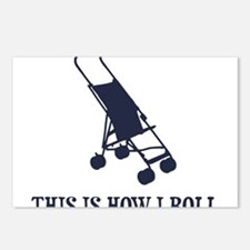 This Is How I Roll Baby Stroller Postcards (Packag