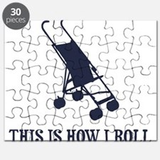 This Is How I Roll Baby Stroller Puzzle