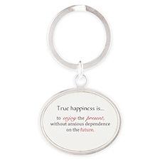 true happiness Keychains