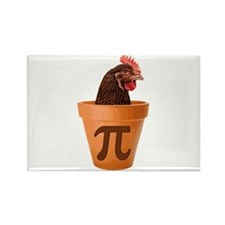 Chicken Pot Pi (and I dont care) Magnets