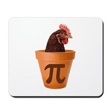 Chicken Pot Pi (and I dont care) Mousepad