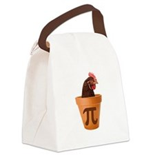 Chicken Pot Pi (and I dont care) Canvas Lunch Bag