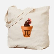 Chicken Pot Pi (and I dont care) Tote Bag