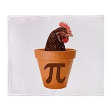 Chicken Pot Pi (and I dont care) Throw Blanket