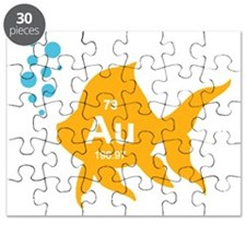 Periodic Table Elemental Gold Fish Puzzle