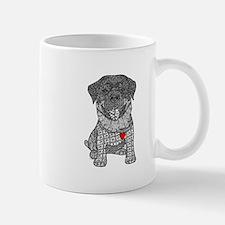 Courageous- Rottweiler Mugs