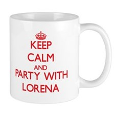 Keep Calm and Party with Lorena Mugs