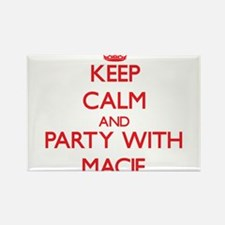 Keep Calm and Party with Macie Magnets