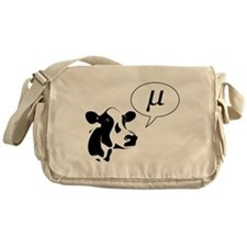 Scientific Cow Goes Mu Messenger Bag