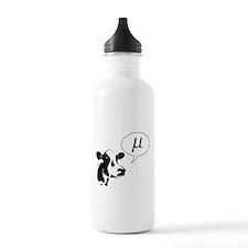 Scientific Cow Goes Mu Water Bottle